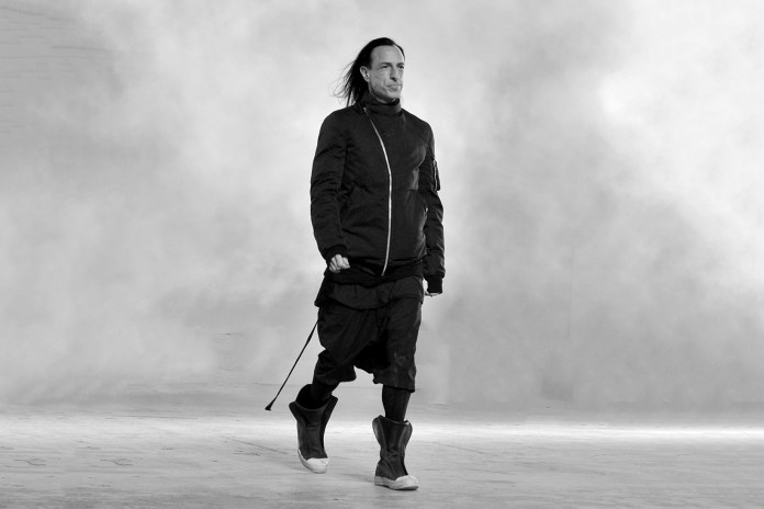 Rick Owens Divulges His Deepest Thoughts on Masculinity and Its Place in Fashion