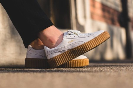 "Rihanna's PUMA Creeper ""Oatmeal"" Will Be Re-Released Today"