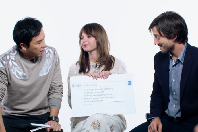The Cast of 'Rogue One' Answer Google's Most Searched Questions