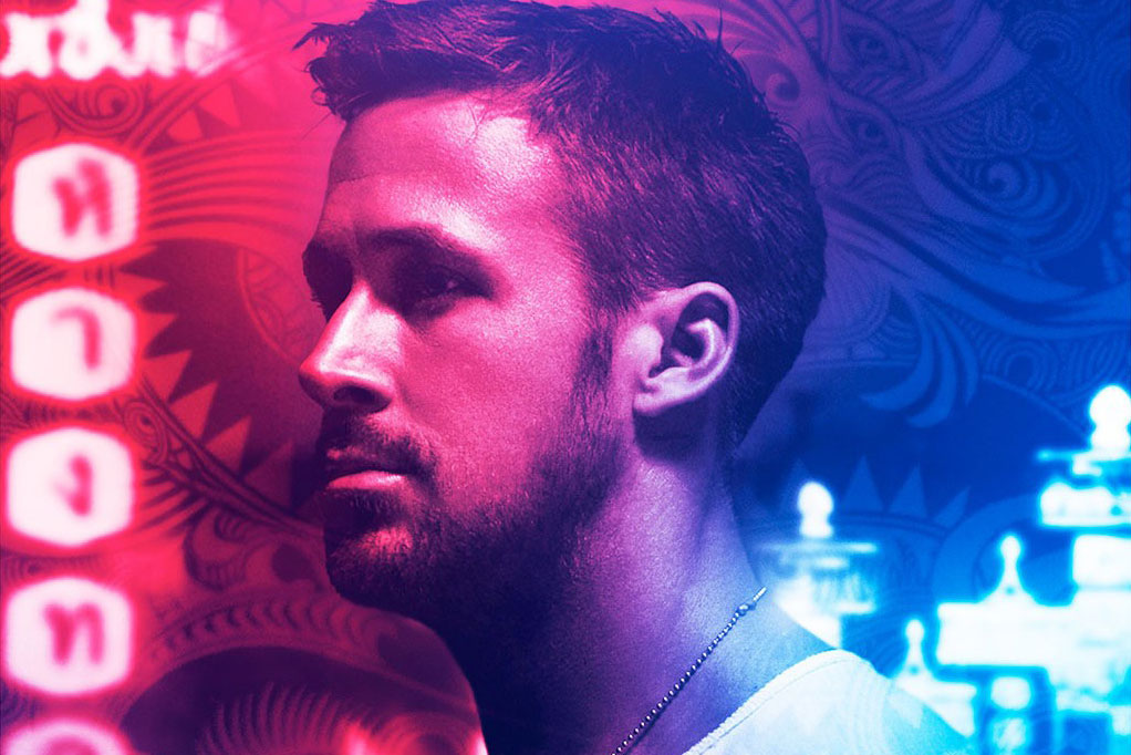 Only God Forgives Neon Poster Ryan Gosling Damien Ch...