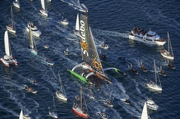 Sailor Sets New Solo Around the World Record