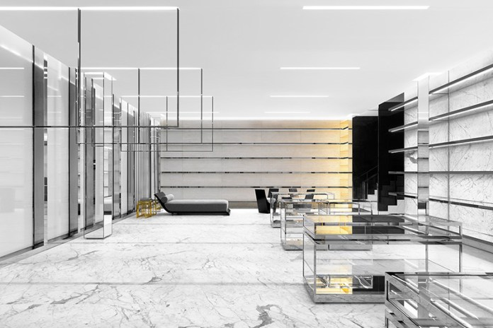 Saint Laurent's New Miami Outpost Is a Marble Oasis