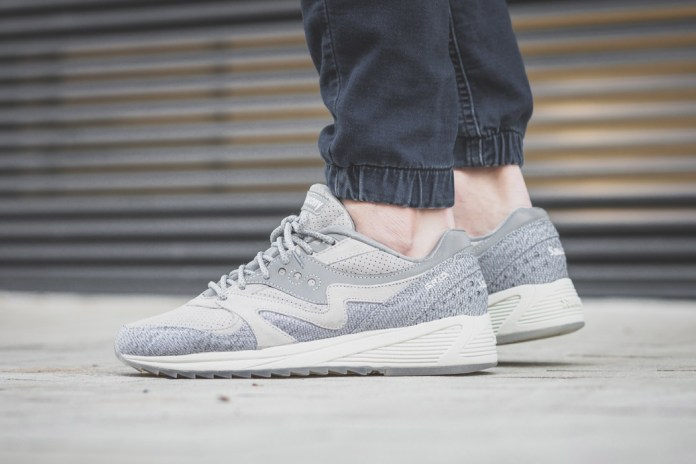 """Saucony's Grid 8000 Receives a Perfectly Timed """"Dirty Snow"""" Makeover"""