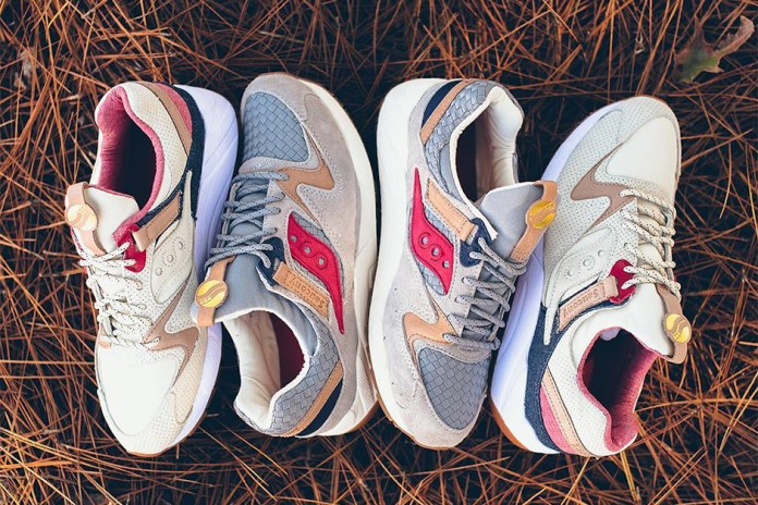 "Saucony's Grid 9000 ""Liberty Pack"" Moves on From the Hectic Holiday Season"