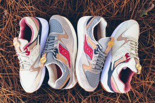 """Saucony's Grid 9000 """"Liberty Pack"""" Moves on From the Hectic Holiday Season"""