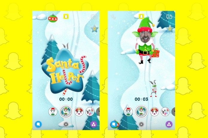 You Can Now Play Games Using Snapchat's Filters