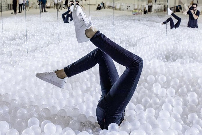 Snarkitecture Has Constructed the World's Largest Ball Pit