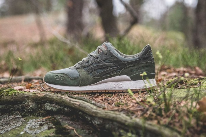 "Sneakersnstuff Unveils Its ASICS Tiger ""Forest"" Pack"