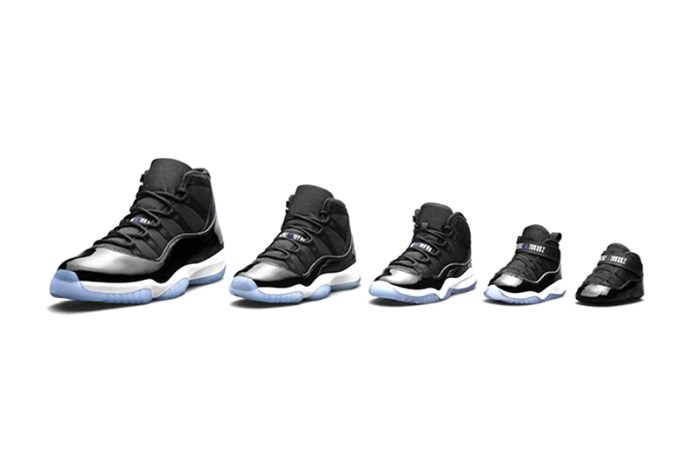 "The ""Space Jam"" Jordan 11 Will Come in Sizes to Fit the Entire Family"