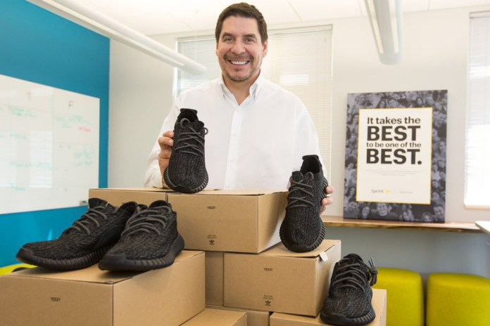Sprint CEO Plans on Giving Away Yeezys Again to Employees