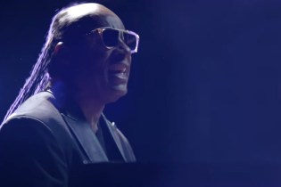 "Stevie Wonder & Ariana Grande Unveil Video for Joint Single ""Faith"""