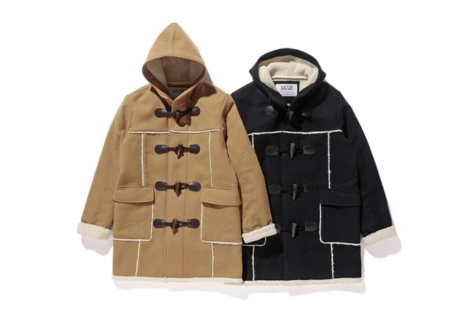 Stüssy & Schott NYC Are Dropping a Co-Branded Duffle Coat