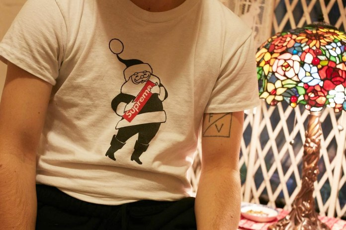 Supreme Unveils Its 2016 Christmas T-Shirt