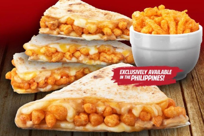 Taco Bell Has Cheetos Quesadillas in the Philippines