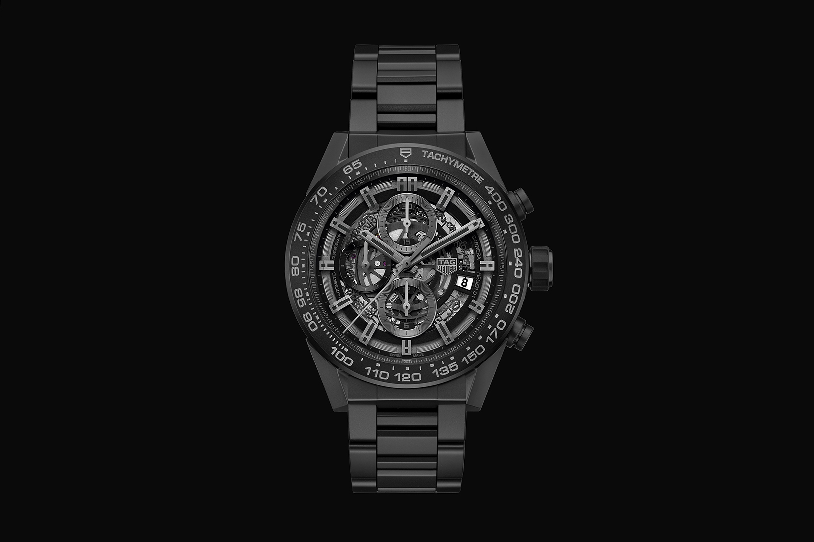 TAG Heuer Carrera Heuer 01 Matte Black Ceramic