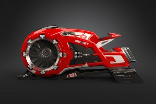 """The Beast"" Hover Air Bike Concept Is the Future of Automotive"