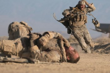 John Cena and Aaron Taylor Johnson Are at the Mercy of an Iraqi Sniper in 'The Wall' Trailer