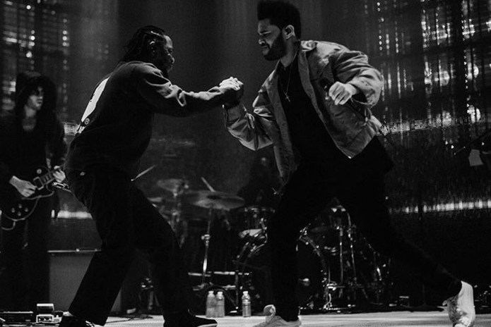 "Watch The Weeknd Bring Kendrick Lamar Onstage for ""Sidewalks"""