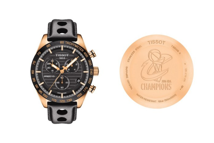 Tissot Presents the First Ever NBA Championship Watch for the Cleveland Cavaliers