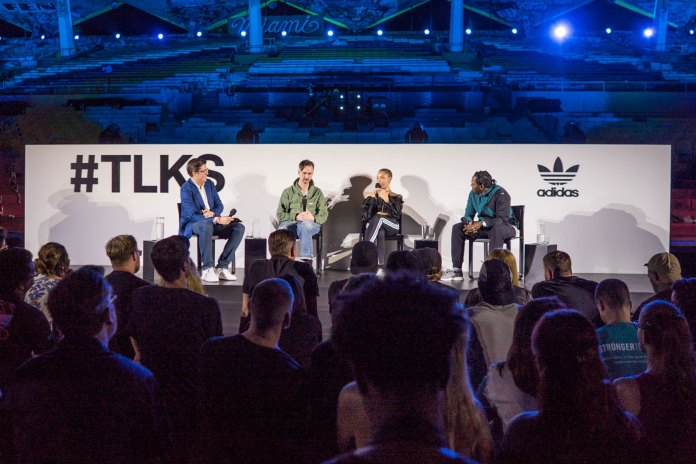 Pusha T Heads the #TLKS by adidas Originals Event During Art Basel 2016