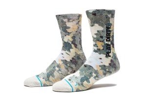 "UNDEFEATED & Stance Team up for Some ""Tree Camo"" Socks"