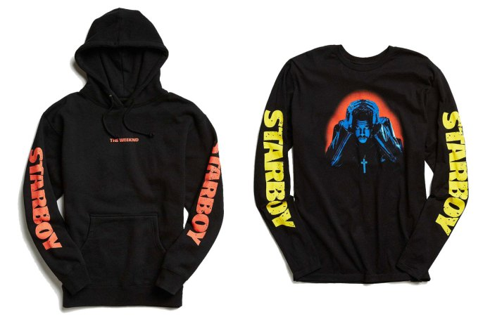 Urban Outfitters' The Weeknd 'Starboy' Collection Is Now Available