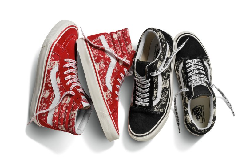 """Vans's Holiday Collection Celebrates """"Off The Wall"""""""