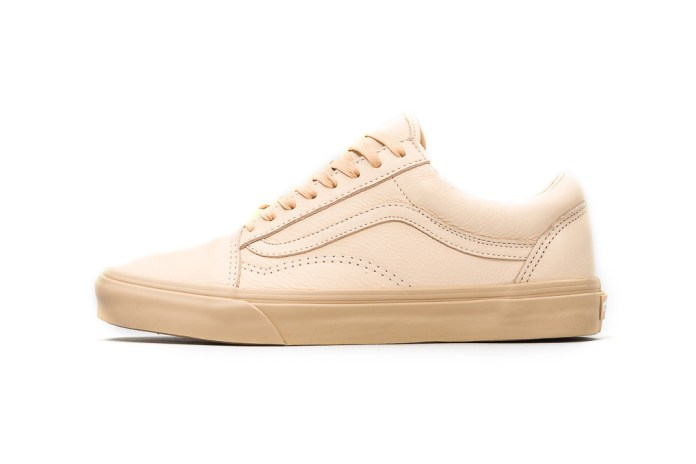 "Vans Old Skool Gets Clean Tan Design For ""Year of the Rooster"""