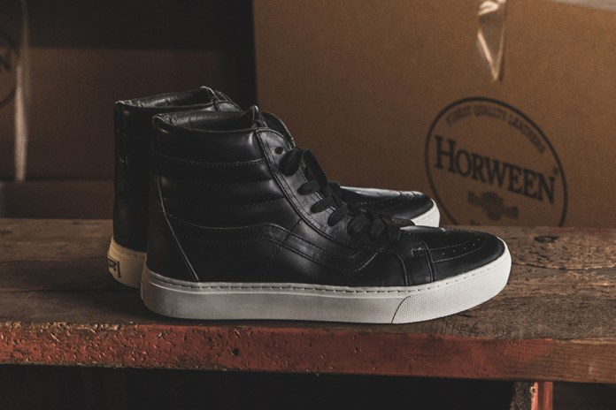 Vans Vault and Horween Team up for Holiday 2016