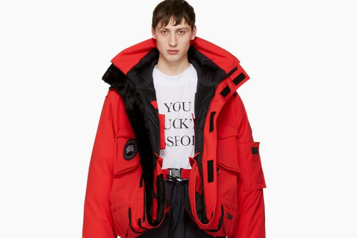 Vetements' Canada Goose Collaboration Is Available to Buy Now