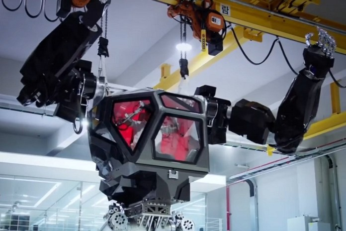 This Mecha Robot Might Be the Future of Interactive Robotics