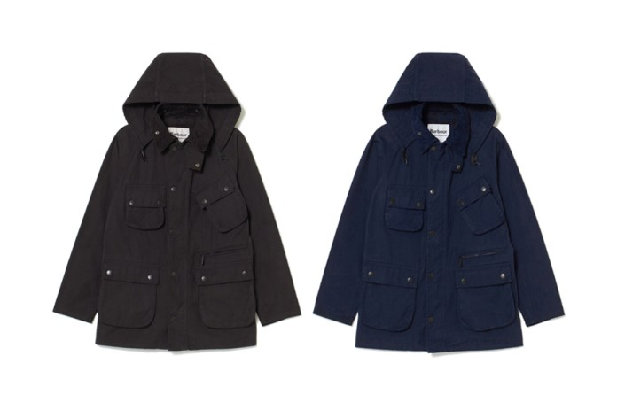 White Mountaineering Crafts an Overdyed Barbour Jacket
