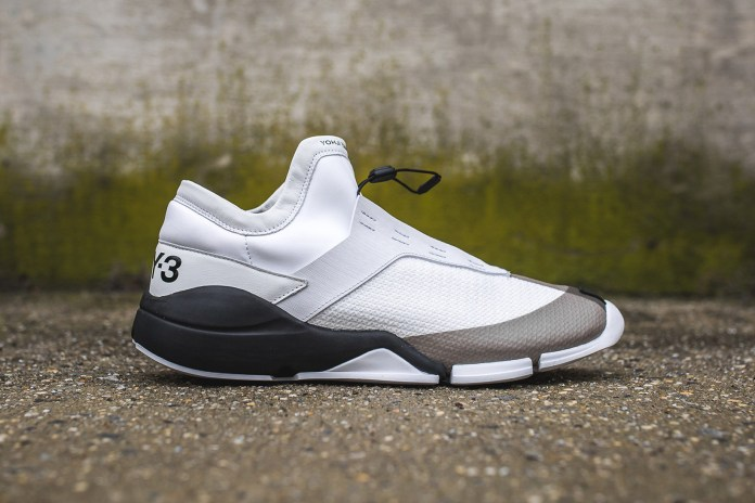 "The Y-3 Future Low Returns in ""White/Core Black"""