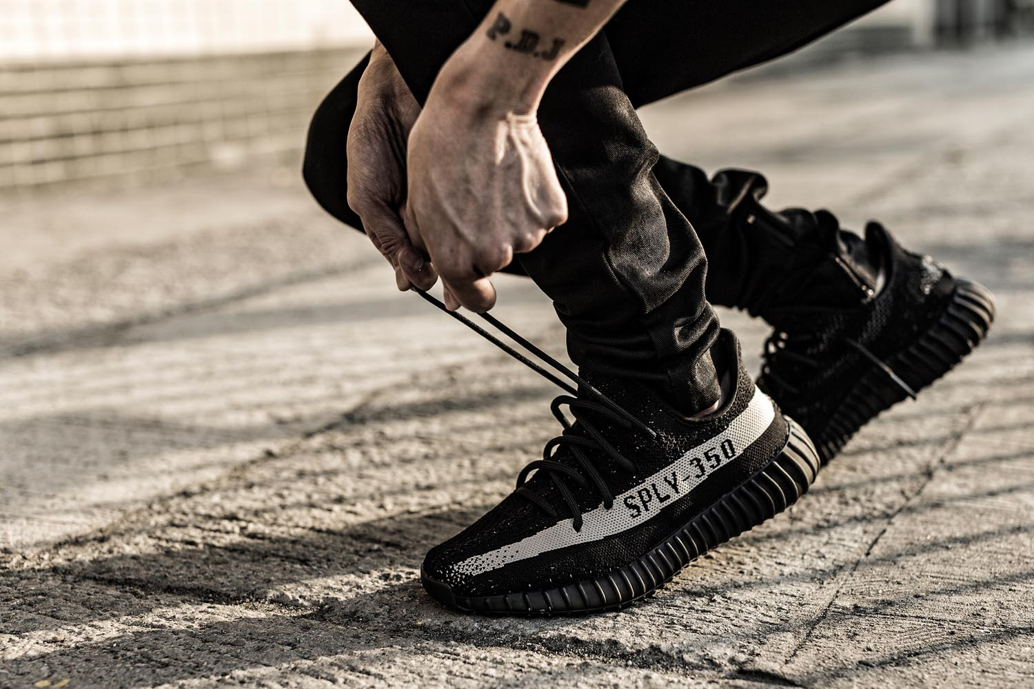 Adidas Yeezy 350 V2 Boost Low SPLY Kanye West by gray