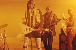 "Young Thug & Wyclef Jean Form an Epic Rock Band for New ""I Swear"" Video"