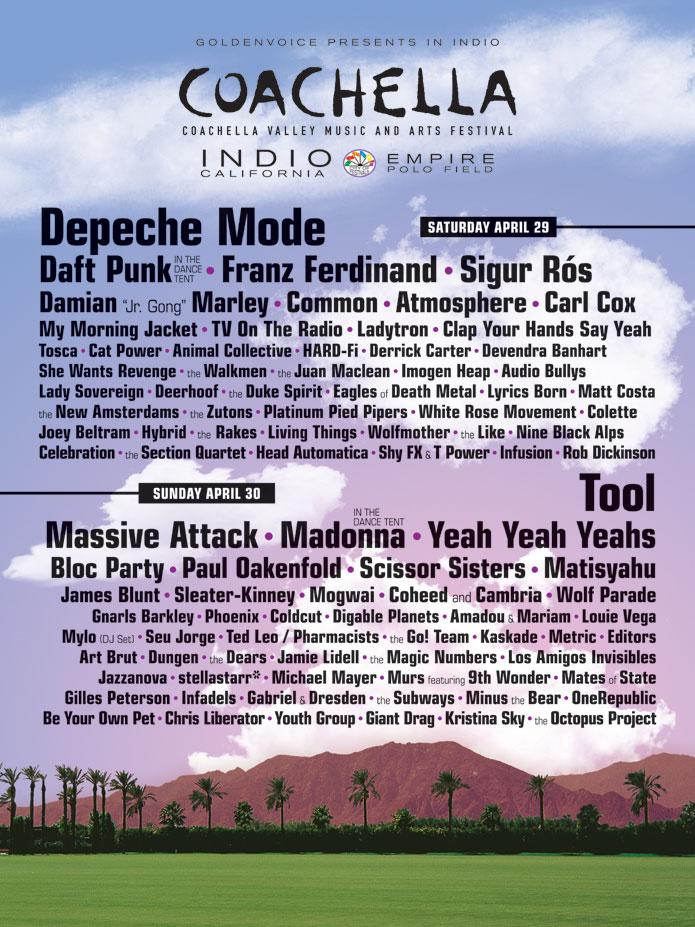 Coachella's Past Lineup History | HYPEBEAST