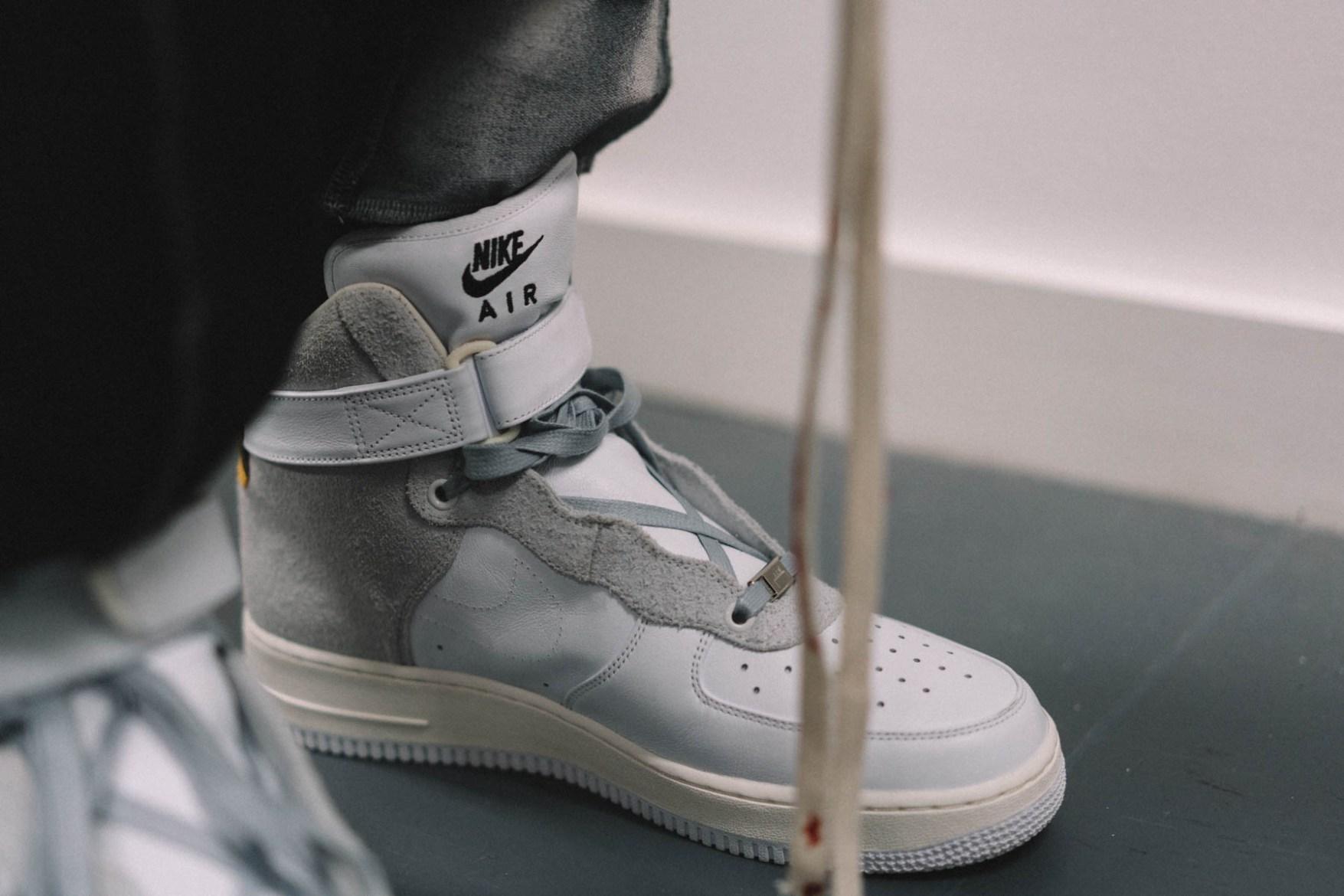 75d29c0586fcb6 A-COLD-WALL  x NikeLab Air Force 1 Custom Bespoke Sneaker .