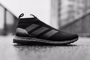 "A Closer Look at the adidas ACE16+ UltraBOOST ""Triple Black"""