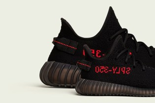 "adidas Originals Confirms Launch of the YEEZY BOOST 350 V2 In ""Black/Red"""