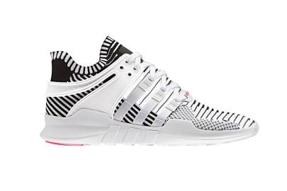 adidas EQT ADV Gets a Black and White Primeknit Treatment