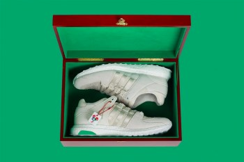 """Here's a Closer Look at the adidas EQT Support 93/16 """"Chinese New Year"""""""