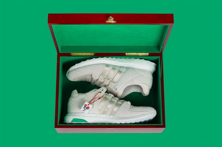 "Here's a Closer Look at the adidas EQT Support 93/16 ""Chinese New Year"""
