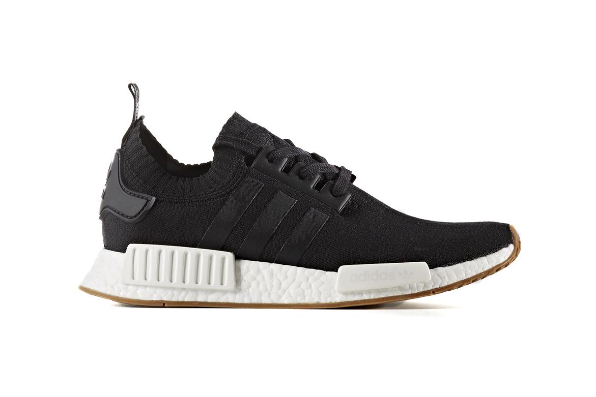 adidas NMD Primeknit Gum Pack Black White