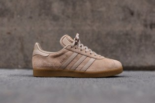 adidas Originals's Gazelle Model Adds Sand Coloring to a Premium Upper