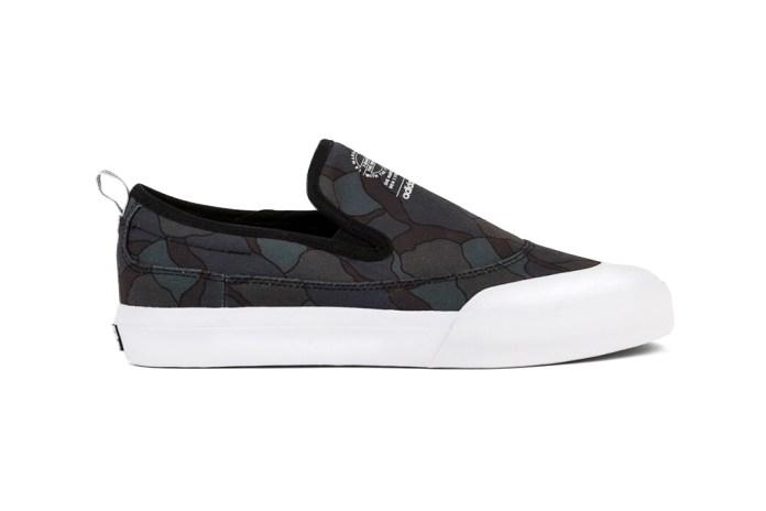 adidas Skateboarding's Matchcourt Slip Receives a Graphic Makeover