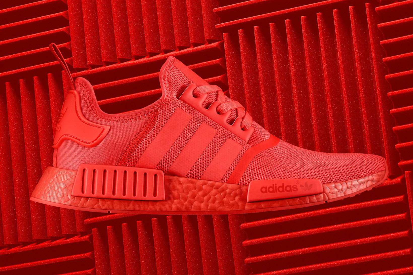 adidas NMD Color Boost Re Release Core Black Solar Red - 1843671