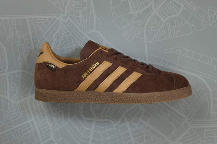 adidas Originals and size? Team up for a Winter-Ready Gazelle GTX Amsterdam