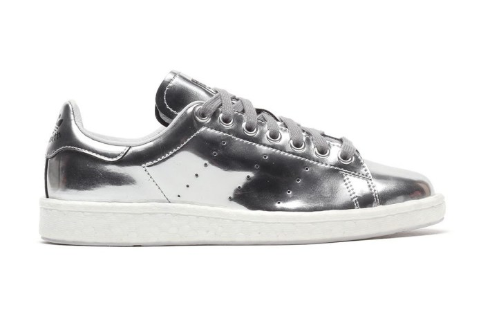 adidas Originals' Stan Smith BOOST Gets a Metallic Silver Makeover