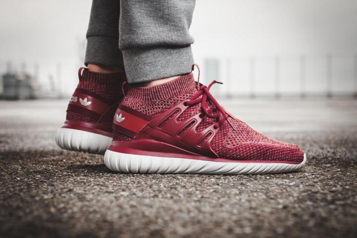 "adidas Drops A ""Mystery Red"" Tubular Nova Primeknit"