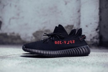 "YEEZY BOOST 350 V2 ""Black/Red"" May See a February Release"